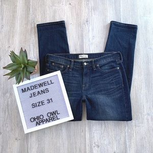 EUC Madewell High-Rise Dark Wash Denim Jeans